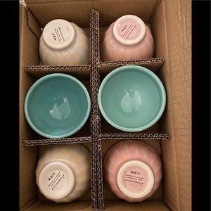 Anthropologie Mini Lustered Latte Bowls